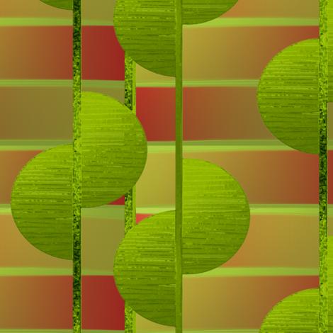 Lime half circles by Su_G fabric by su_g on Spoonflower - custom fabric
