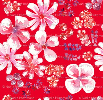 amélie fond rouge L