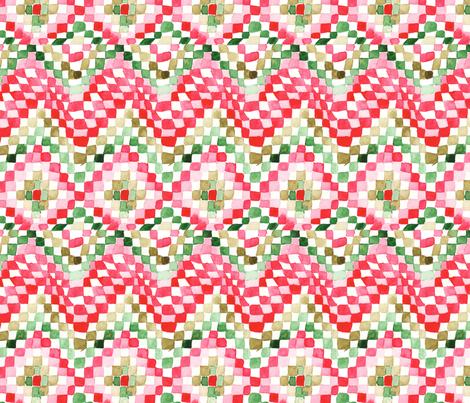 antoinette damier M fabric by nadja_petremand on Spoonflower - custom fabric