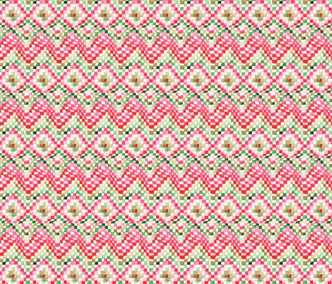 antoinette damier S fabric by nadja_petremand on Spoonflower - custom fabric