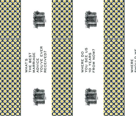 3 Guest Books fabric by stephanie on Spoonflower - custom fabric