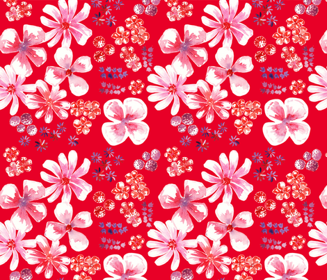 set antoinette 3 fabric by nadja_petremand on Spoonflower - custom fabric