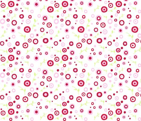 Rose_Garden_Fabric_Small_Print fabric by free_spirit_designs on Spoonflower - custom fabric