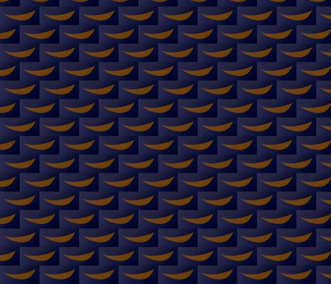 Mini Moons fabric by stelladottie on Spoonflower - custom fabric