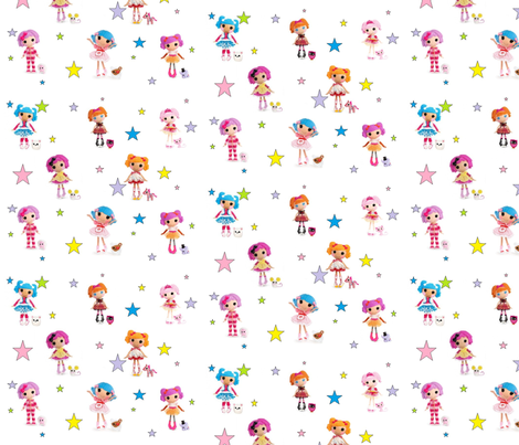 Lalaloopsy Land fabric by reasha on Spoonflower - custom fabric