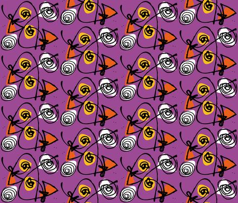 orange_and_purple fabric by zapi on Spoonflower - custom fabric