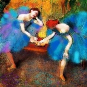 Great Art Redux by Susi Franco-Degas Ballerina