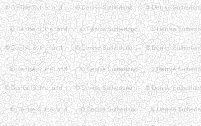 Doodle Swirls - Grey