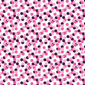 1/4 Scattered Dots Tri-Color