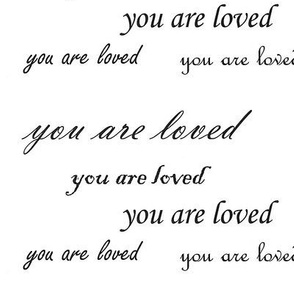 you are loved script