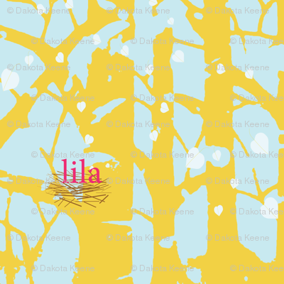 lila aspen quilt fabric