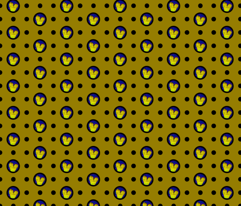 Pin&Pon Popfintail fabric by joancaronil on Spoonflower - custom fabric