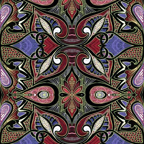 Tribal Tribulations fabric by edsel2084 on Spoonflower - custom fabric