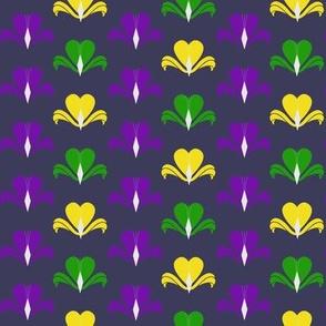 Fleur de Coeur - violet