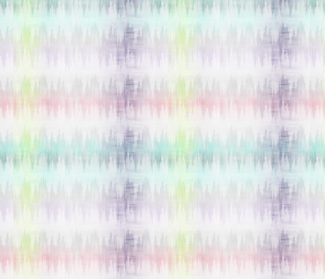 Brushstroke Plaid Ikat fabric by glimmericks on Spoonflower - custom fabric