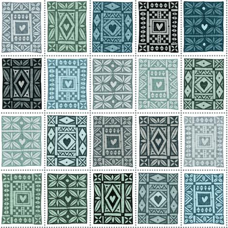 Keepsake Juniper fabric by spellstone on Spoonflower - custom fabric