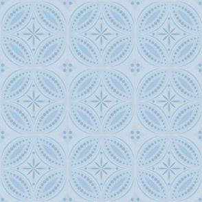 Moroccan Tiles - Pale Blue