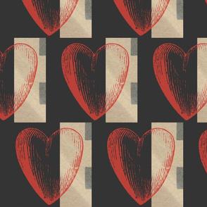 Stripe Heart