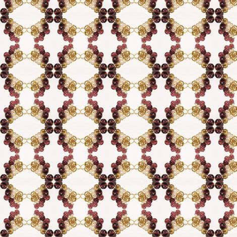 Amethyst Pearl Stitchery fabric by ravynscache on Spoonflower - custom fabric