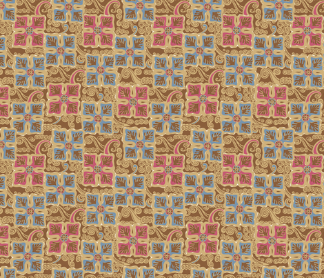 Aussie PRINT multi  fabric by gitchyville_stitches on Spoonflower - custom fabric
