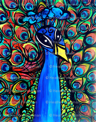 Mr Brighten Peacock