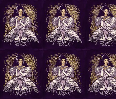 Sarah fabric by karenhallionart on Spoonflower - custom fabric