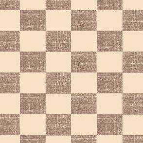 Check Mates - pink/brown
