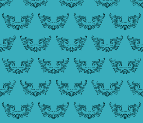 I Open at the Close fabric by karenhallionart on Spoonflower - custom fabric