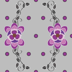 Purple_Pokadot_scroll_on_grey