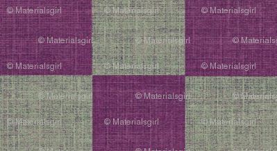 Check Mates - purple and gray