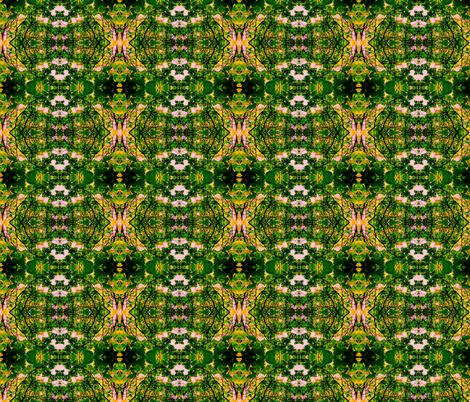 Summer Catalpa Trees fabric by ravynscache on Spoonflower - custom fabric
