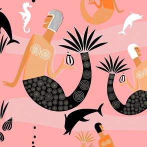 Mermaids (Pink)