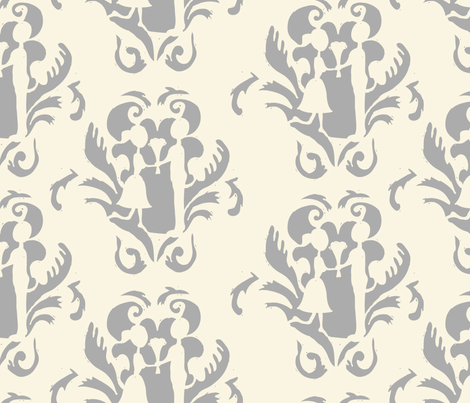 love fabric by lauraway on Spoonflower - custom fabric