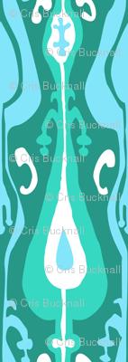 Ikat Island Emerald