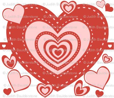 Valentine Heart full of heart