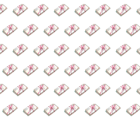 Stackoflove fabric by vnewton on Spoonflower - custom fabric