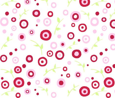 Rose_Garden_Fabric_Large_Print fabric by free_spirit_designs on Spoonflower - custom fabric