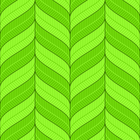 leafy bands fabric by sef on Spoonflower - custom fabric