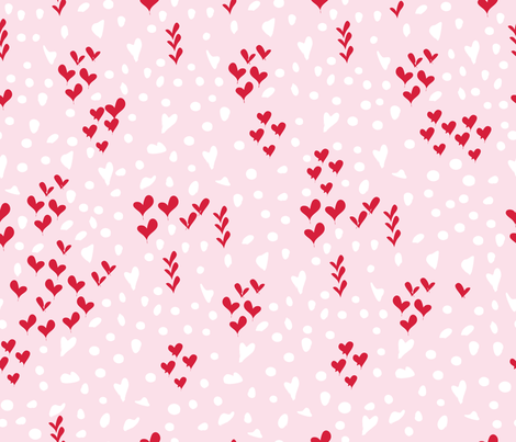 givingheartsgivinghope-animal print fabric by vy_la_designs on Spoonflower - custom fabric