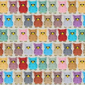 Fuzzy Owlettes