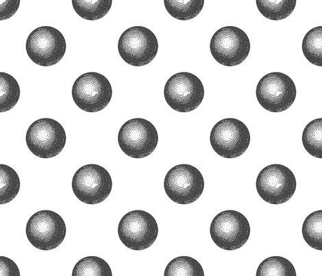 Pool Ball Polka Dots fabric by hollycejeffriess on Spoonflower - custom fabric