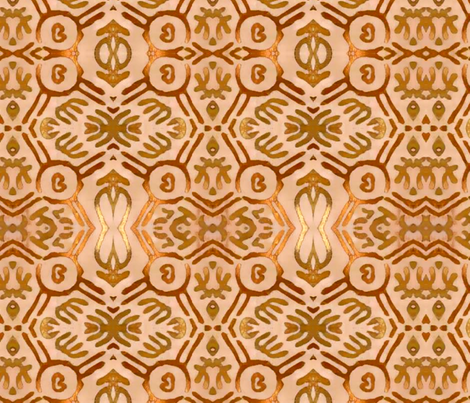 Lotus 1 fabric by nascustomlife on Spoonflower - custom fabric