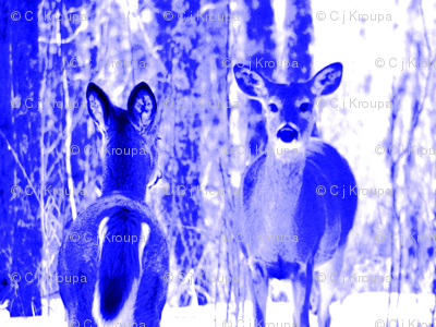 Blue Deer There and Back