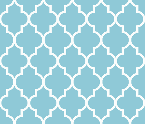 Tiffany Quatrefoil fabric by willowlanetextiles on Spoonflower - custom fabric