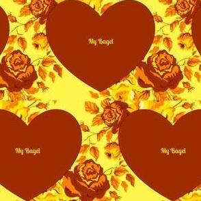 Jewish Valentine - My Bagel