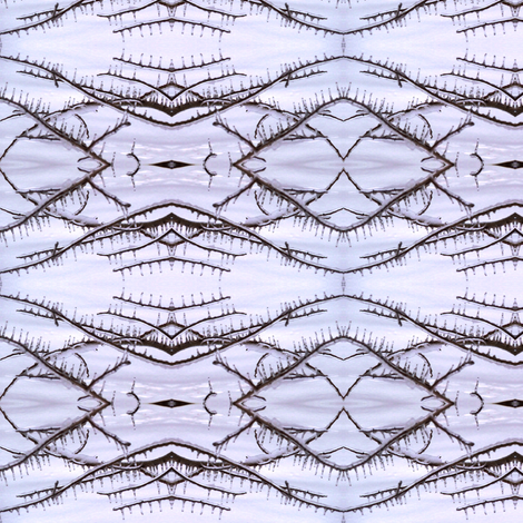 Winter's Teeth fabric by ravynscache on Spoonflower - custom fabric