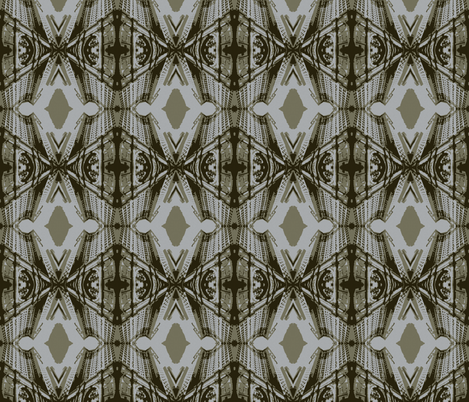 Municipal Diamonds-Original fabric by relative_of_otis on Spoonflower - custom fabric