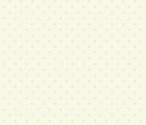Pastel Polka Dots Pink Yellow fabric by curious_nook on Spoonflower - custom fabric