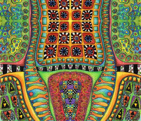 kleurrijk fabric by ekeskleurdesign on Spoonflower - custom fabric