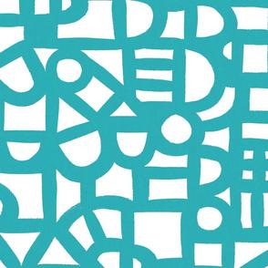 Windows - Teal - wallpaper